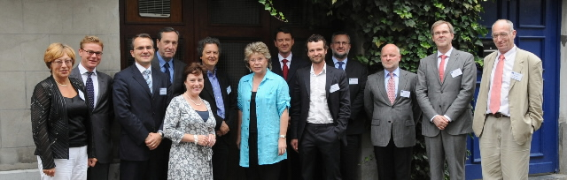 Meeting between Viviane Reding, Member of the EC, and Editors-in-Chief of  European Newspapers