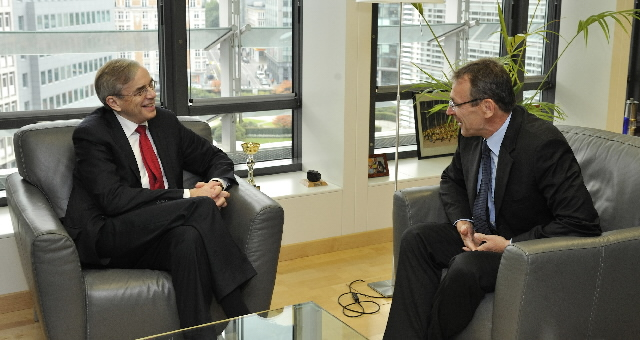 Visit by Thomas Mirow, President of the EBRD, to the EC