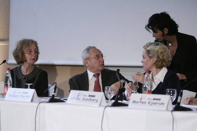 Press conference on Human Rights in Paris