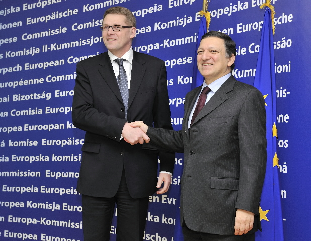 Visit of Matti Vanhanen, Finnish Prime Minister, to the EC