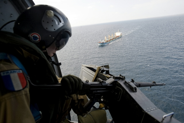 Atalanta operation in the Gulf of Aden