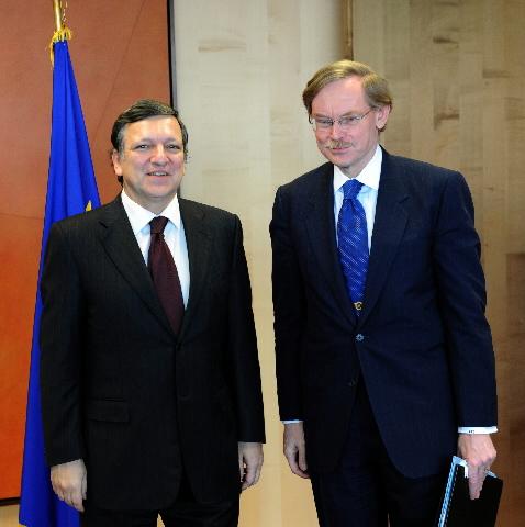 Visite de Robert Zoellick, président de la Banque mondiale, à la CE