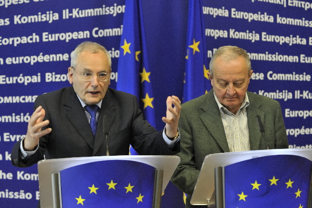 Joint press conference of Jacques Barrot and Mario Sepi on the launch of the European Integration Forum and the interactive European Web Site on Integration