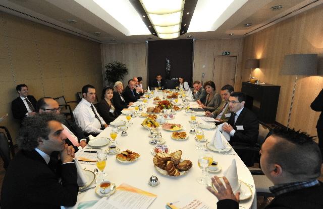 Visit of SME directors to the EC
