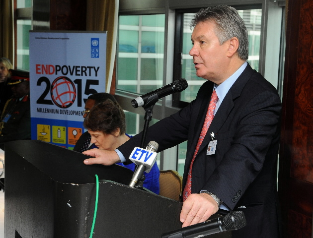 Participation of Karel De Gucht, Member of the EC, at the UNDP meeting on the international project about the MDGs