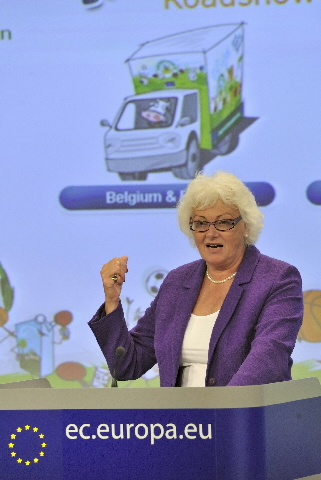 Press conference by Mariann Fischer Boel, Member of the EC, on the The Tasty Bunch campaign