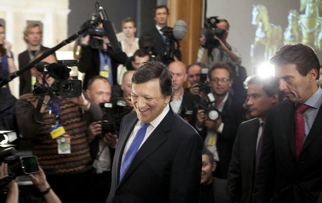 Quadriga prize-giving to José Manuel Barroso, President of the EC