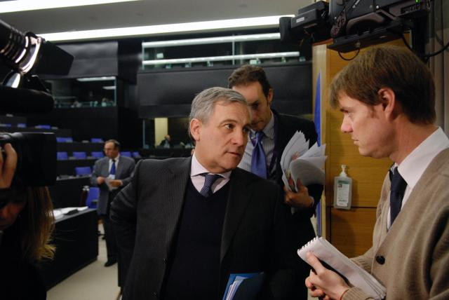Press conference by Antonio Tajani, Vice-President of the EC, on air passenger rights