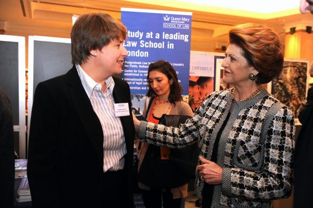 Participation of Androulla Vassiliou, Member of the EC, at the EU Studies Fair