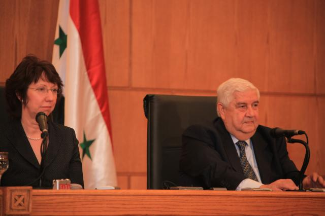 Visit of Catherine Ashton, High Representative of the Union for Foreign Affairs and Security Policy and Vice-President of the EC, to Lebanon and Syria
