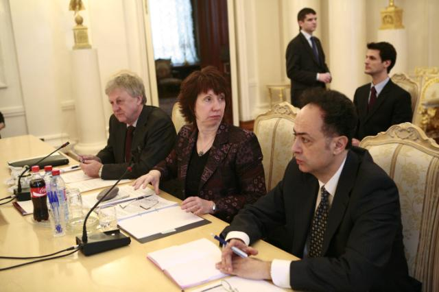 Participation of Catherine Ashton, High Representative of the Union for Foreign Affairs and Security Policy and Vice-President of the EC, at the meeting with the Middle East Quartet, in Moscow