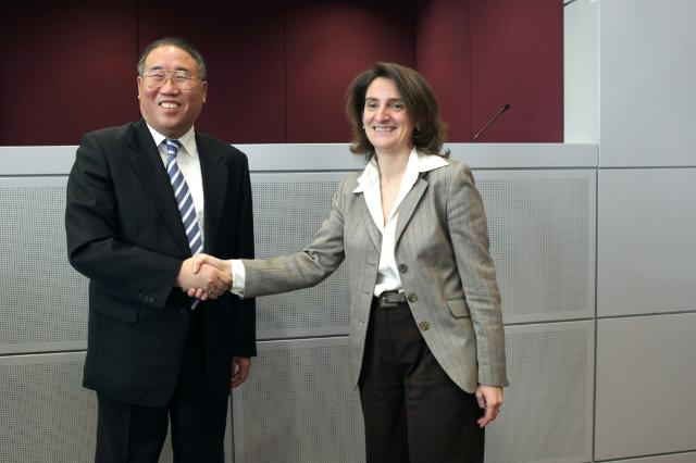 Trilateral meeting between the EC, China and the Spanish Presidency of the EU