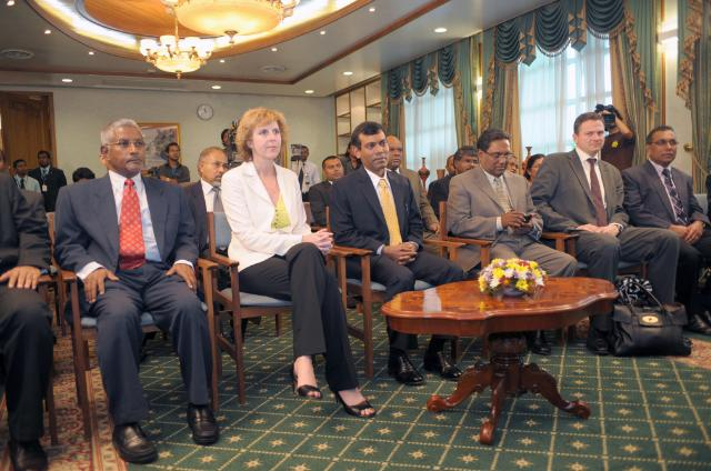 Visit of Connie Hedegaard, Member of the EC, to the Maldives