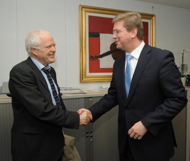 Visit of Thomas Hammarberg, Commissioner for Human Rights of the Council of Europe, to the EC