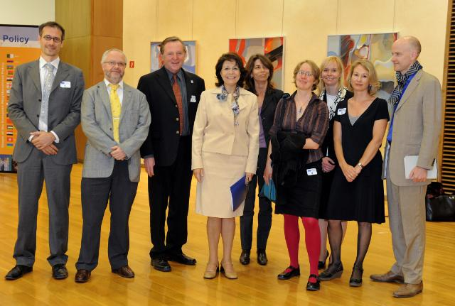 Visit of NGOs' representatives on the World Oceans Day, to the EC