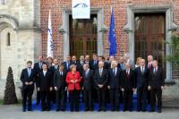 Participation de José Manuel Barroso, président de la CE, au sommet du PPE