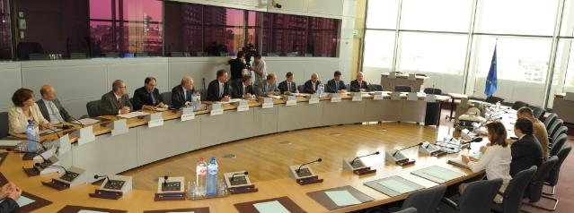 Participation of José Manuel Barroso, President of the EC, at the plenary meeting of the Executive Council of the American Chamber of Commerce to the European Union (AmCham EU)