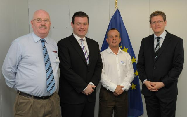 Visit of Alan Kelly, Member of the EP, accompanied by the representatives of the Dell Redundant Workers Association, to the EC