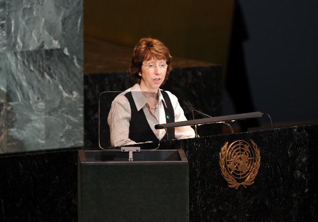 Visit of Catherine Ashton, Vice-President of the EC, to New York
