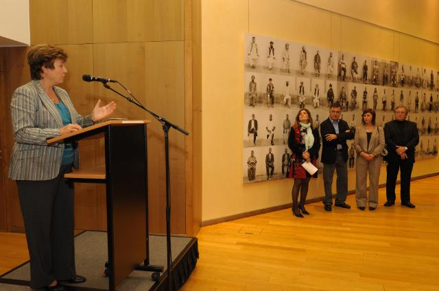 Opening by Kristalina Georgieva, Member of the EC, of the photo exhibition Mined Lives: Ten Years, by the Spanish photographer Gervasio Sánchez
