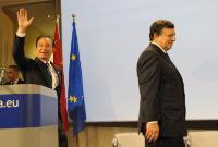 Participation de José Manuel Barroso, président de la CE, au forum culturel UE/Chine