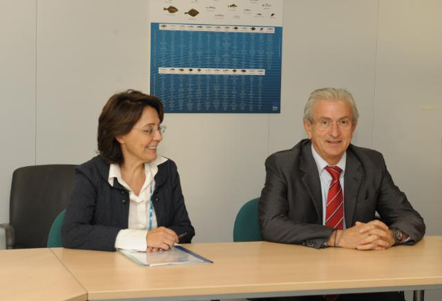 Visit of Theodore Veniamis, President of the Union of Greek Shipowners, to the EC