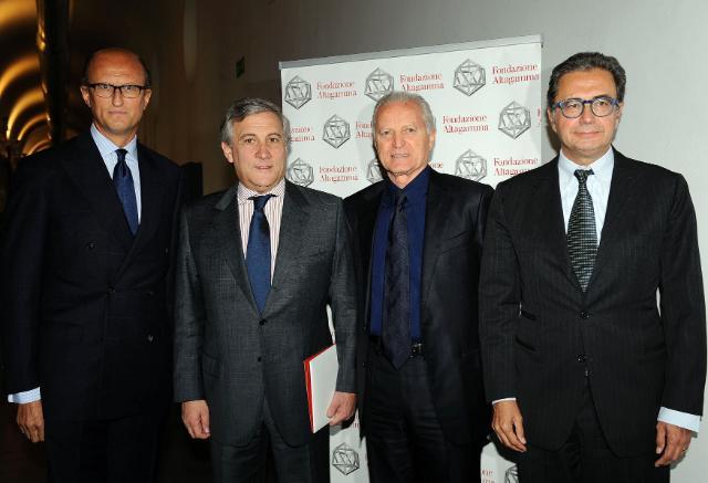 Participation of Antonio Tajani, Vice-President of the EC, at the Osservartorio Altagamma 2010 presenting the indicators of the luxury market, in Milan