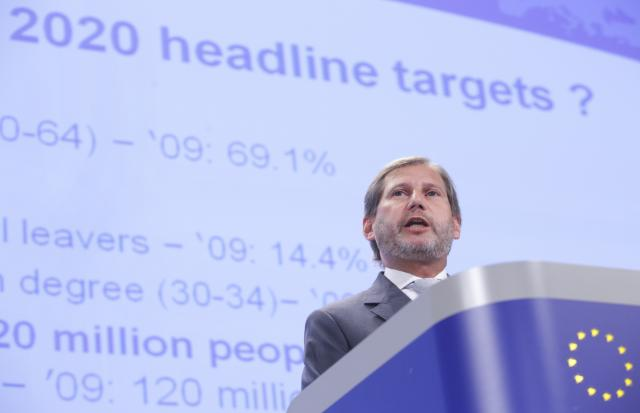 Joint press conference by Johannes Hahn and László Andor, Members of the EC, on the Report on Economic, Social and Territorial Cohesion