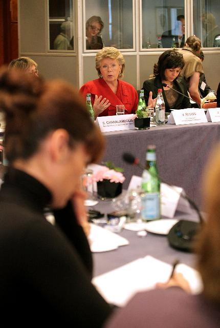 Participation of Viviane Reding, Vice-President of the EC, at the Summit of Female Ministers of the EU