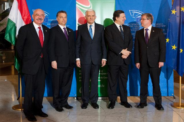 Participation of José Manuel Barroso, President of the EC, at a meeting on Financial Perspectives 2014-2020