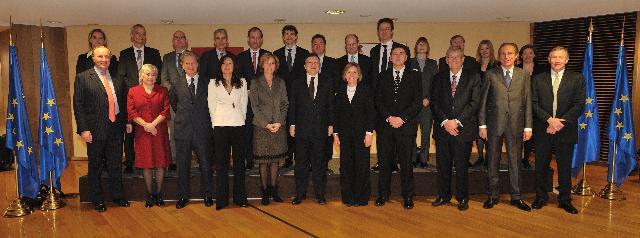 Visite du groupe de travail sur le changement climatique de la Fondation Prince de Galles (CLG) à la CE