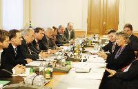 Visite de Viviane Reding, vice-présidente de la CE, à Vienne