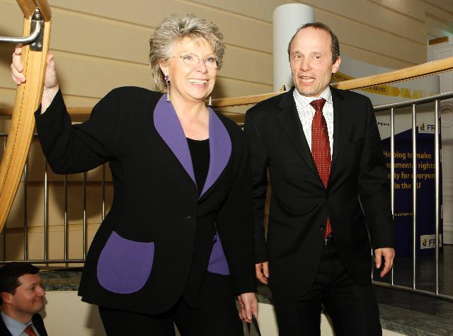 Visit of Viviane Reding, Vice-President of the EC, to Vienna