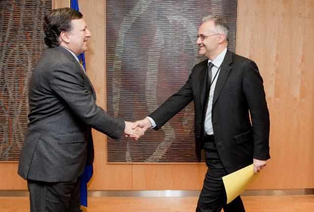 Visit of Mario Mauro, Member of the EP, to the EC