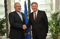 Visit of Neven Mimica, Deputy Speaker of the Croatian Parliament and Chairman of the Croatian Parliament's Committee for European Integration, to the EC