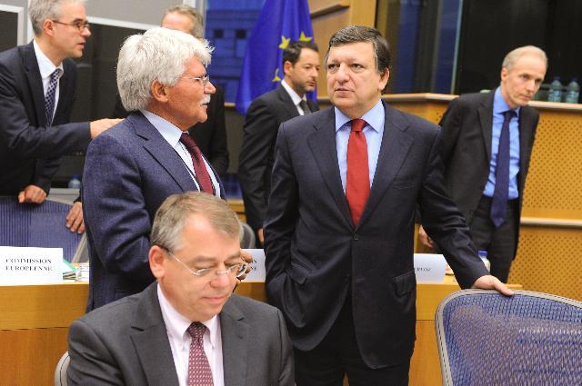 Visite du Collège des présidents des commissions du PE à la CE