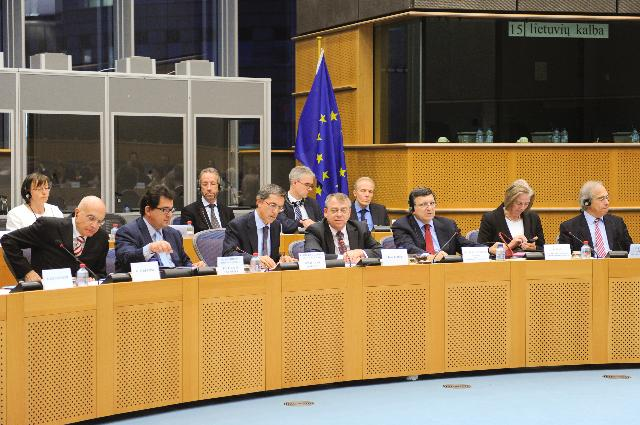 Visit of the College of the Chairmen of the Committees of the EP to the EC