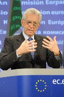 Visit of Mario Monti, Italian Prime Minister; Minister for Economy and Finance ad interim, to the EC