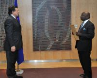 Presentation of the credentials of the new Heads of Mission to José Manuel Barroso, President of the EU
