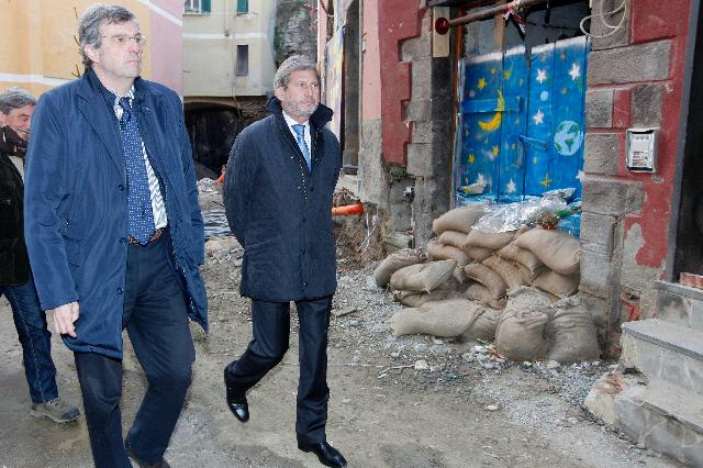 Visit of Johannes Hahn, Member of the EC, to Italy