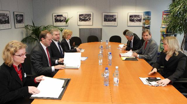 Visite d'une délégation de gouverneurs régionaux polonais à la CE