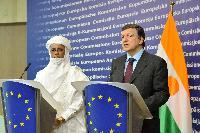 Visite de Brigi Rafini, Premier ministre nigérien, à la CE