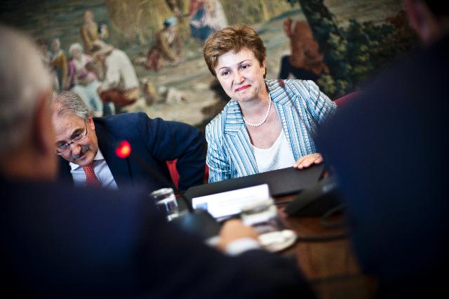 Visit of Kristalina Georgieva, Member of the EC, to Spain