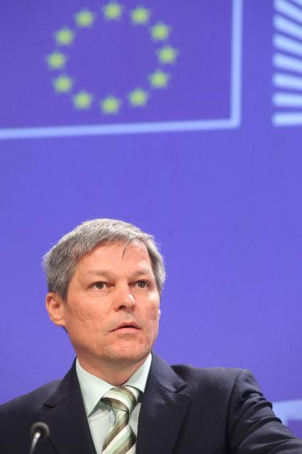 Press conference by Dacian Cioloş, Member of the EC, on aid transparency in the agriculture sector