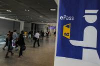 The EasyPASS system at Frankfurt am Main (Germany) Airport custom