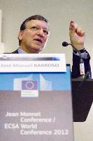 Participation of José Manuel Barroso, President of the EC, and Androulla Vassiliou, Member of the EC, in the Jean Monnet Conference/ECSA World Conference 2012