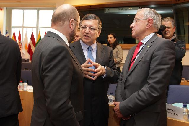 Participation of José Manuel Barroso, President of the EC, in the meeting of Friends of Cohesion Group