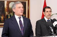Visit of Antonio Tajani, Vice-President of the EC, to Morocco