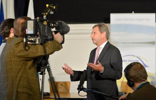 Participation of Johannes Hahn, Member of the EC, at the 1st Annual Forum of the EU Strategy for the Danube Region