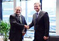 Visit of Philippe Le Houérou, Vice-President of the World Bank for Europe and Central Asia, to the EC